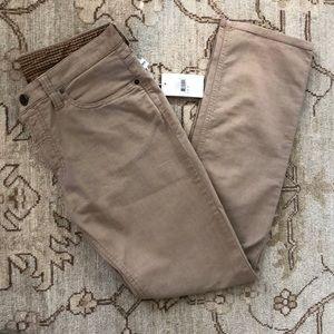 Men's Armani Collezioni NWT beige jeans